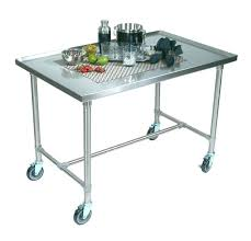 stainless steel cart with wheels stainless steel kitchen cart with