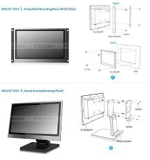 touch screen monitor hdmi suppliers