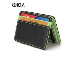<b>CUIKCA</b> Korean Version Unisex <b>Magic Wallet</b> Money Clips Women ...