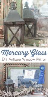 love the look of antique mirrorercury glass but not the high