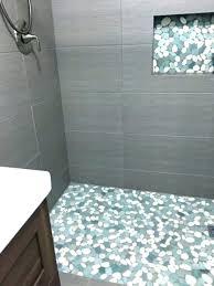 stone shower floor pebble tile tiles best ideas on cleaning