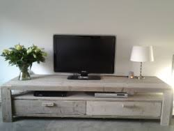 tv kast. tv meubel low rider (open vak) kast