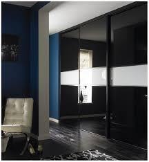 black glass doors