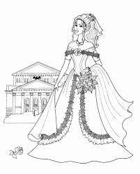 Tổng hợp trọn bộ 50 bức tranh tô màu công chúa cực đẹp dành cho bé gái