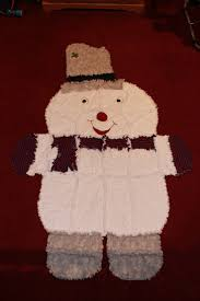 64 best Ragged Edge Quilts images on Pinterest | Crafts, Baby ... & snowman rag quilt Adamdwight.com