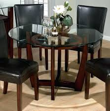 round glass top patio table glass top dining room table round white dinette sets round glass
