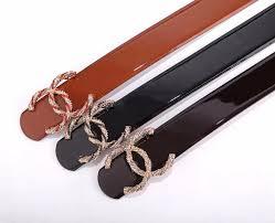 Designer Belts Women Fashion Alloy Smooth Buckle Belts Women Design Belts Black Color Brand Waistbands No Box Jy5a2 Belt Size Chart Batman Belt From