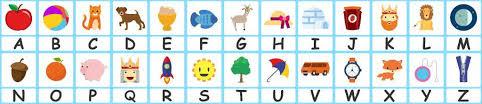 alphabet flashcards teach a z free