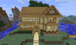 minecraft small wooden house plan best design modern cute houses to build in small suburban