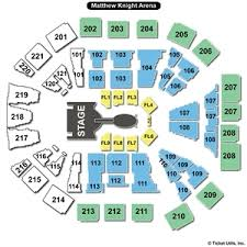 58 Curious Matthew Knight Arena Concert Seating Chart
