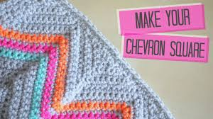 Sharp Chevron Crochet Pattern Unique Design