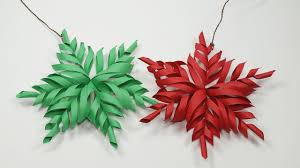 paper snowflakes 3d 3d snowflake diy tutorial how to make 3d paper snowflakes for