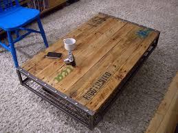 industrial metal and wood furniture. Industrial Metal And Wood Furniture 1