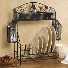 Moose Kitchen Decor Bear Kitchen Decor Bear Dinnerware Kitchen Rack Black Bears