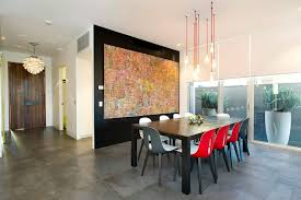 perfect big front door dining room contemporary with window wall oversized artwork part 10