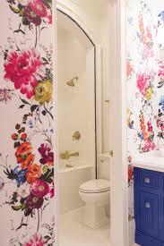 Funky Bathroom Best 25 Bathroom Wallpaper Ideas On Pinterest Half Bathroom