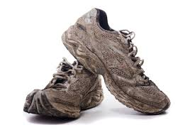 Image result for muddy running shoes