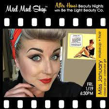 mad mod is proud to co host after hours beauty nights with be the light beauty co s make up artist samantha staton