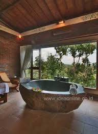 22 natural stone bathtubs emphasizing their spatialities homesthetics cool bathrooms 16