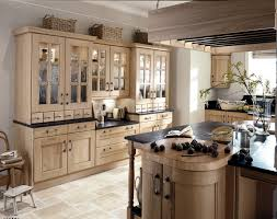Shabby Chic Kitchen Furniture Picture Of Country Wooden Kitchen Furniture With Black Countertop