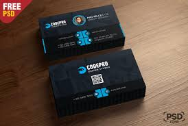 Free Psd Business Card Templates Free Corporate Business Card Template Psd Download Psd