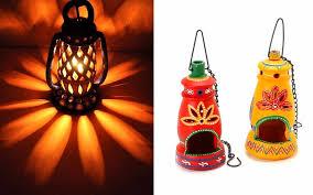 amazing diwali decoration ideas with lanterns and lamps image 6