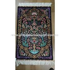 china handmade silk tapestry antique silk collection rug home decoration silk rug wall