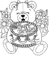 Small Picture Birthday cake coloring pages on plate ColoringStar