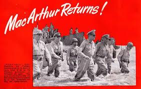 「1944 MacArthur returns(HISTORY)(」の画像検索結果