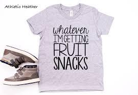 Whatever Im Getting Snacks Youth Crew Neck Tshirt Kids