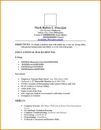 Sample Of Application Letter For Ojt Resume Appeal Letters Cover