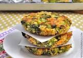 baked cheese   broccoli patties