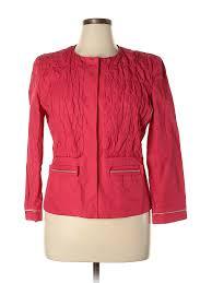 Elie Tahari Shoe Size Chart Details About Elie Tahari Women Pink Jacket L
