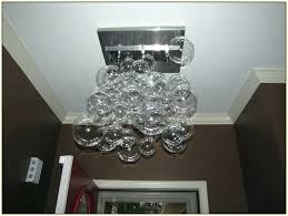 glass bubble chandelier diy glass bubble chandelier glass ball chandelier home decorators secaucus