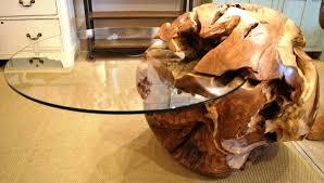 tree stump coffee table on ellen tables teak root tree stump coffee table on ellen tables teak root