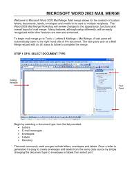 Word Mail Merge Email Microsoft Excel