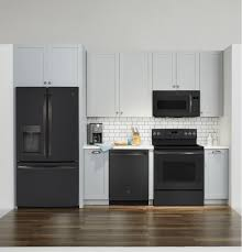 black slate appliances. Contemporary Black GE 19 Cu Ft OvertheRange Sensor Microwave Oven With Black Slate Appliances V