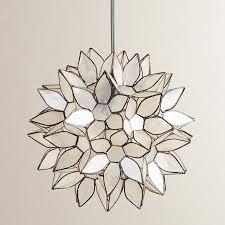 view full size lotus flower chandelier76
