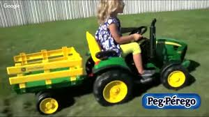 john deere tractor power wheels review peg perego john deere power wheel epic kids toys