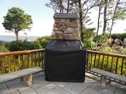 outside fireplace covers