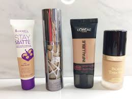 top 4 full coverage foundation