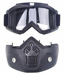 Star Shine Motorcycle Protective Goggles Bike Face Mask Bike Face