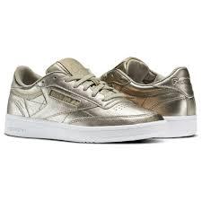reebok x uo club c sneaker. reebok - club c 85 leather pearl met / grey gold white bs7901 x uo sneaker
