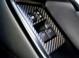 carbon window switch panels ctd germany nissan professional tuning