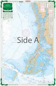 Clearwater Beach To Egmont Key Large Print Navigation Chart 31e