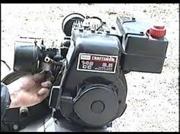 Carburetor Clean & Rebuild on 3.5 HP Tecumseh Engine Part 2 of 2 ...