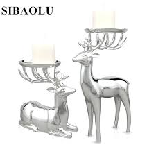 silver wall candle holders candle holder wall decor luxury style deer shape metal candle holder high silver wall candle