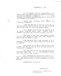 The Documents Part 1 Source Documents Interviews Serialpodcast