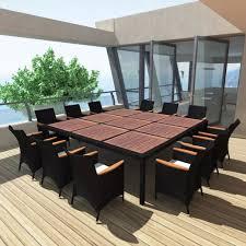 black outdoor wicker chairs. VidaXL-Black-Outdoor-Wicker-Rattan-Furniture-Set-Patio- Black Outdoor Wicker Chairs D