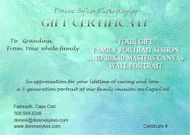 Gift Certificate Wording Photography Gift Certificate Templates 17 Free Word Pdf Psd